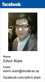 Edvin Alam's Facebook Profile